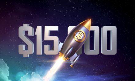 Der Wahnsinn geht weiter: Bitcoin über 15.000 US-Dollar
