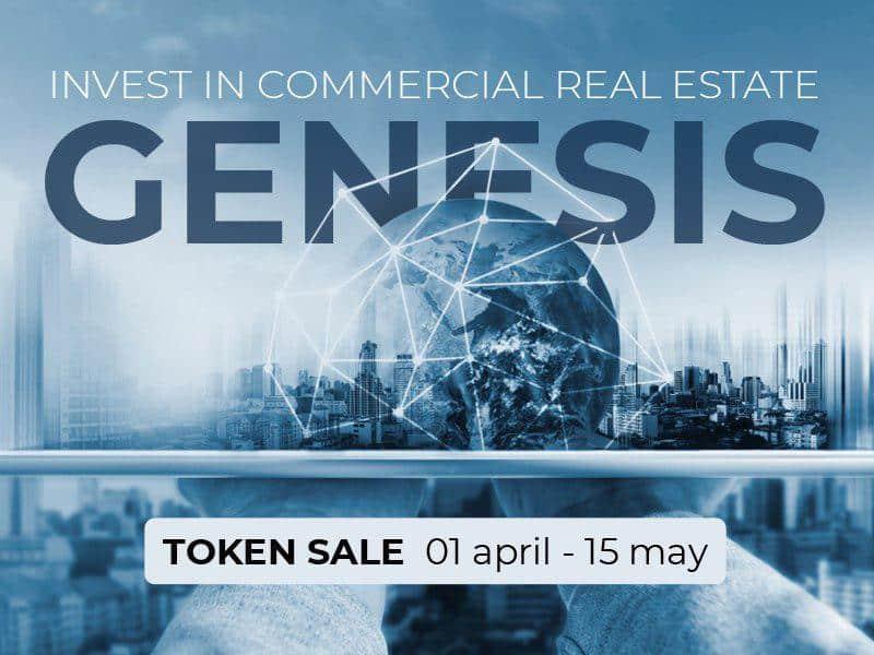 Zugangspreis für Immobilieninvestitionen sinkt bis 1 Euro dankGENESIS-Projekt und Blockchain-Technologie