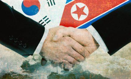 Koreanischer Friedensvertrag auf der Ethereum-Blockchain