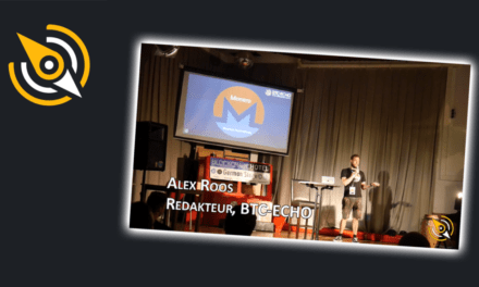Monero, die private Kryptowährung – Alex Roos, BTC-ECHO @ BTCM2018