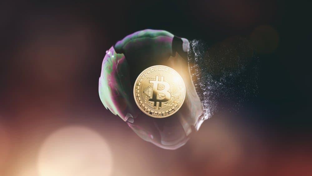 Bitcoin Blase Geplatzt