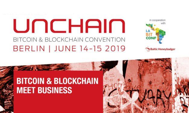 Ticket zu gewinnen: Unchain Convention – Krypto-Ökosystem trifft auf klassische Wirtschaft