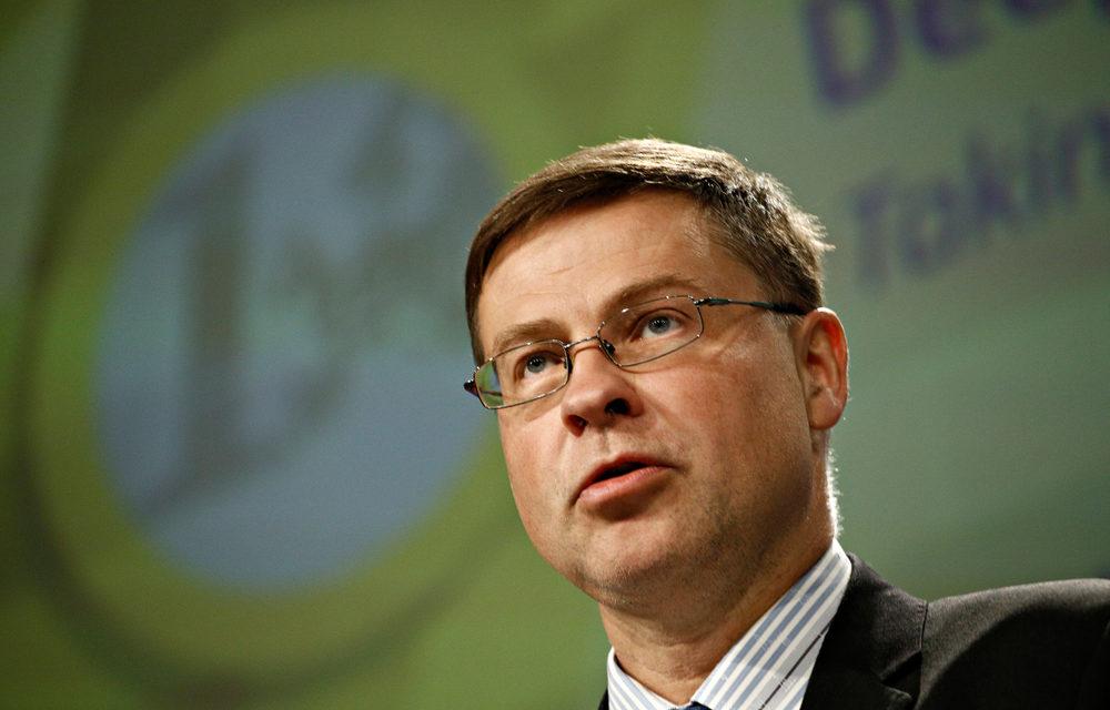 EU-Kommissar Dombrovskis fordert eindeutige Gesetzgebung für Kryptowährungen