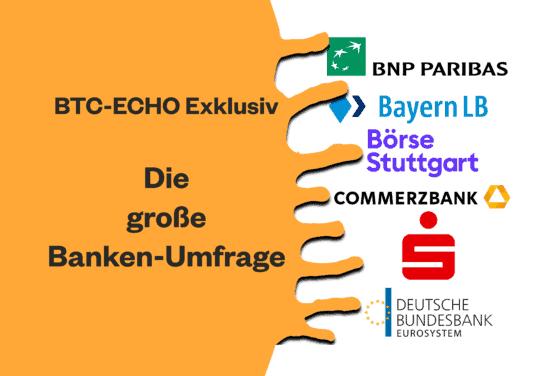 Exklusiv-Umfrage: So stehen deutsche Banken zur Kryptoverwahrung
