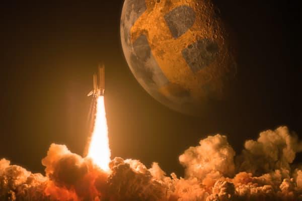 Raketenwissenschaft: Bitcoin-Kurs (BTC) bei 350.000 US-Dollar? Reich rechnen leicht gemacht
