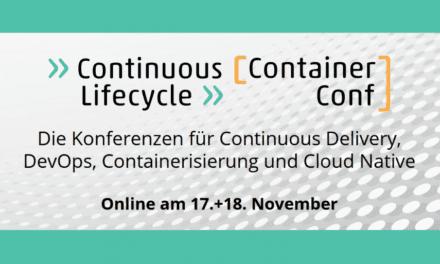 heise-Angebot: Continuous Lifecycle und ContainerConf 2021: Frühbucherrabatt sichern
