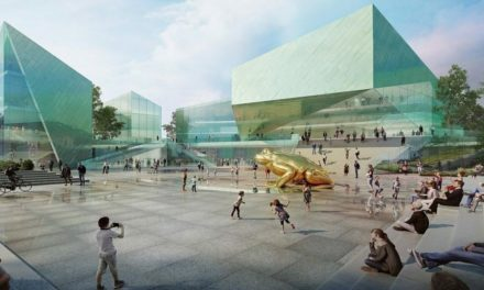 Filmzentrum für Toruń nach Plänen von österreichischen Architekten